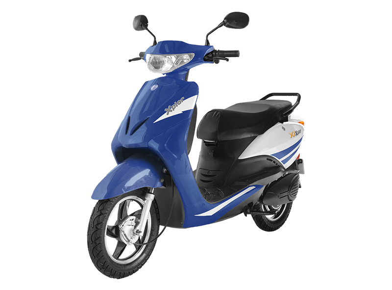 Color options for Motor scooter blue book